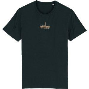 T-shirt public noir