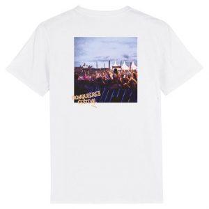 T-shirt public blanc