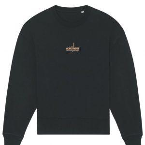 Sweatshirt vinyl noir