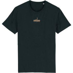 T-shirt vinyl noir