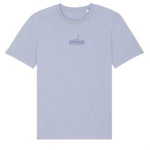 T-shirt public bleu